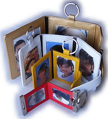 Leather-photo-key-rings