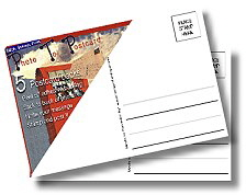 Adhesive-postcard-backings